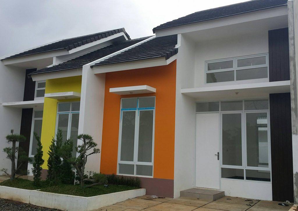 Rumah Depok Purinusa Asri Serua Tipe 32/72 dua kamar tidur, desain minimalis. Rumah Depok Murah dan Berkwalitas. Lokasi di Jalan Kavling DPR Serua,