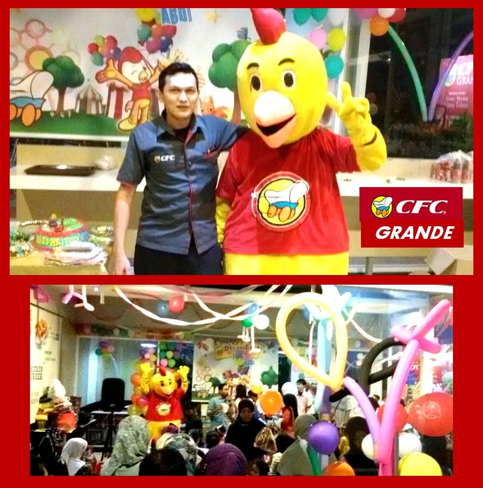 CFC GRANDE Binong Permai Ulang Tahun di CFC GRANDE nomor telpon (021) 598 1838 jalan Binong Raya Sukabakti Tangerang 15810