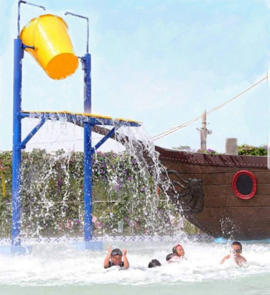 Dibuka untuk umum ARYANA AQUAPLAY kolam renang waterpark di perumahan ARYANA KARAWACI jalan Raya Diklat Pemda Tangerang 15810.